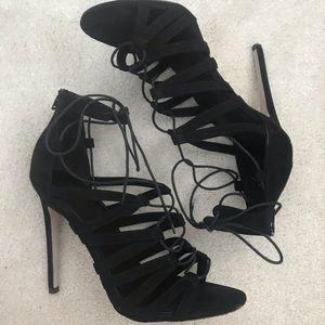 ASOS Hallie Lace Up Heeled Sandals